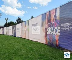 Custom Printed Full Color Fence Wrap On Pvc Mesh Banner Or Vinyl with measurements 1200 X 1000 Black Fence Wrap - When you replace a fence, it's also a Mesh Banner, Miss Images, Mesh Fencing, Fence Screening, Black Fence, White Picket Fence, Logo Creation, Vinyl Banners, Party Banners