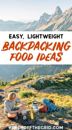 The Best Backpacking Food Ideas - Backpacking Breakfasts, Backpacking Lunch, Backpacking Dinners - we show you our favorite picks from our time on the trail! food gear meals tips Appalachian trail gear gear tips backpacking camping Camping Car, Camping And Hiking, Camping Meals, Camping Hacks, Outdoor Camping, Hiking Tips, Family Camping, Camping Hammock, Winter Camping