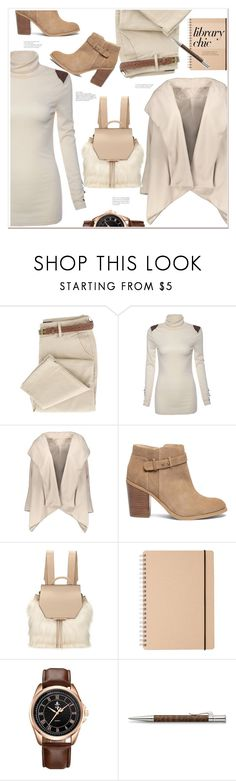 """""""time to study"""" by mycherryblossom ❤ liked on Polyvore featuring Sole Society, Kendall + Kylie and Faber-Castell"""