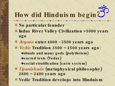 What is Hinduism? One of the oldest religions of humanity The religion of the Indian people Gave birth to Buddhism, Jainism, Sikhism Tolerance and diversity: … Hinduism Quotes, Sanskrit Quotes, Vedic Mantras, Vedas India, Hindu Vedas, Hinduism History, Advaita Vedanta, Mythology Books, Sanskrit Language