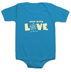 Amazon.com: Made with Love (and Science) Onesie: Clothing