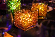 Gala Centerpiece LED Lights Water Beads by lawrencehallofscience, via Flickr