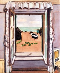 Open Window, Etretat / Henri Matisse - 1920