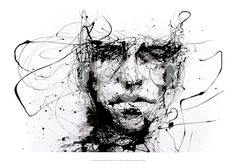 Lines Hold the Memories Art Print by Agnes Cecile at Art.com