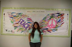 interactive wall murals - Google Search Angel Wings Art, Interactive Walls, Wall Murals, Google Search, Wallpaper Murals, Murals, Wall Prints, Mural Painting, Mural Art