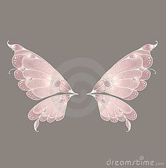 Illustration about Digital angel and/or fairy wings for your artistic creations. Illustration of angels, isolated, heaven - 4706110 Fairy Wings Drawing, Diy Fairy Wings, Diy Wings, Butterfly Fairy, Butterfly Wings, Fairy Wing Tattoos, Wings Design, Fairy Art, Fairy Dolls