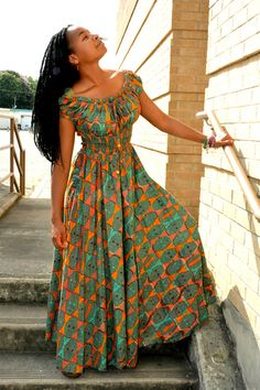 HOME African Print Dresses, African Print Fashion, African Fashion Dresses, African Outfits, Fashion Outfits, African Attire, African Wear, African Women, Unique Dresses