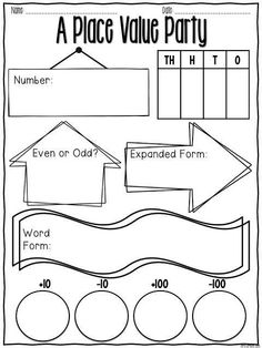 This is a 3rd grade math skip counting worksheet. Print