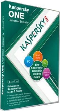 Kaspersky One 2012 3 Lizenzen