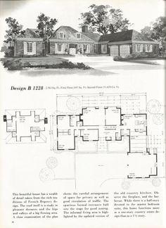 split foyer 2 storey plan p 778 mid century exterior house colors