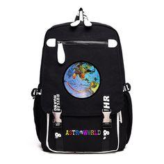 Travis Scott Big Capacity Students Backpack Travel Bag – SGoodGoods Travis Scott Merch, Travis Scott Astroworld, Backpack Travel Bag, Shirt Hoodies, Trendy Outfits, Students, Sweatpants, Backpacks, Big