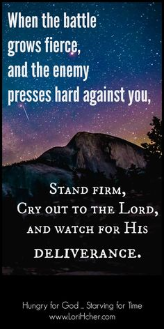 Hungry for God: What to Do When Your Situation Seems Hopeless ~ It was ugly. And scary. You'd think a force of 400,000 valiant warriors would be enough to guarantee a victory, but the enemy had 800,000. Outnumbered two to one by a superior fighting force, things weren't looking good for the army of Judah. But instead of raising the white flag of surrender, Abijah, the army's king, took a bold stand. [...]
