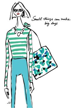 Art | Ann Taylor Illustrated | Fashion