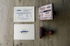biz card / Platz by Eszter Laki