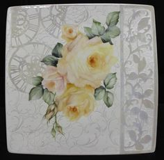Time for Roses a new Modern Design | ARTchat - Porcelain Art Plus (formerly Chatty Teachers & Artists)
