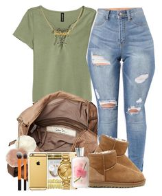 """""""1800"""" by imwhit ❤ liked on Polyvore featuring H&M, Friis & Company, Dorothy Perkins, UGG Australia and Sweet Pea by Stacy Frati"""