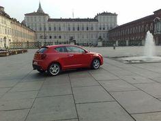 Alfa Romeo alla piazza castello - Torino