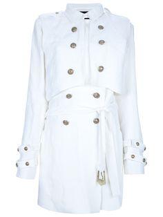 4c1e5b6eda55 Balmain Trench Coat - Marion Heinrich - farfetch.com