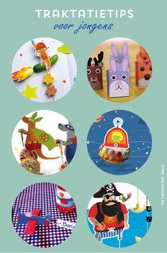 Traktaties voor stoere jongens ! Piraten, cowboys, auto's en meer,  treats, girls, free printable, download, birthday treat, partytreat, kids