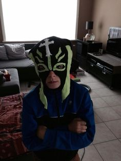 Masker gemaakt