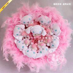 Cartoon bouquets 9 Genuine cinnamoroll white dog with big ears Cinnamoroll birthday gift ideas - Taobao