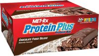 Protein Plus Chocolate Fudge by Met-Rx - Buy Protein Plus Chocolate Fudge 12 Bars at the Vitamin Shoppe