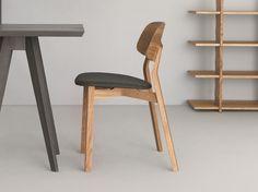 Stuhl aus Holz NONOTO by ZEITRAUM Design LÄUFER   KEICHEL