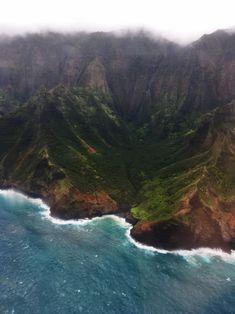 °Kauai, Helikopterrundflug über Napali Coast, einfach unvergesslich & ein Muss. °Kauai, helicopter tour over Napali Coast, simply unforgettable & a must. Kauai, Grand Canyon, Coast, Water, Outdoor, Tropical Gardens, Perfect Place, Mists, Gripe Water