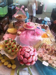 Arianna's Tea Party birthday yummies
