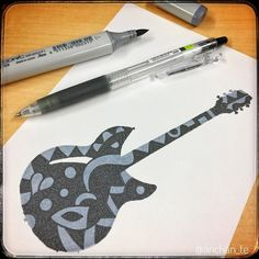 @anchan_te  follow me for more Guitars - Rickenbacker 360(12/12) Last but not least this 360 isn't the most famous of all but I love its vintage old rock look. I got my mind set on you...!!  Pilot Juice 0.38 black on Copic marker 03 - -- --- ---- ----- ------ ------- -------- --------- #guitar #prs #santana #jackson #gibson #electricguitar #fender #metal #blues #metallica  #lineart #エレキ #ギター #artistichappiness #lovisticart #pilot #pilotjuice #pilotpenfrance #pilotpen #copic #copicmarkers…