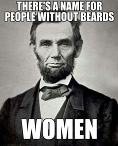 Real men don't shave // funny pictures - funny photos - funny images - funny pics - funny quotes - #lol #humor #funnypictures