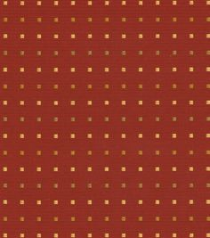 Swavelle Millcreek Home Decor Solid Fabric San Jose Ketchup