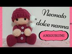Neonato/a Dolce Nanna AMIGURUMI - Crochet a baby (English sub) - YouTube