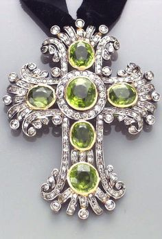 peridote silver cross - Pesquisa Google