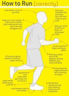 Richtig Joggen! Wer laufen geht, der sollte es auch richtig machen... #joggen #laufen #walken #fitnessde