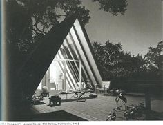 "John Campbell's ""Leisure House"" in Mill Valley, CA. 1953."