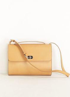 A.P.C. Minimal Shoulder Bag (Beige)