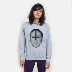 SataNic Nicolas Cage Sweatshirt UNISEX sizes S, M, L, XL @Marina Zlochin Fisher