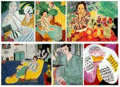 "Paintings by Henri Matisse inspired by Romanian women. In each of them, is represented the ""ia"", the Romanian traditional piece of clothing."