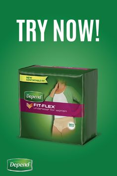 Is incontinence preventing you from tackling the day with confidence? Get back to doing what you love with Depend® FIT-FLEX® Underwear. Not only is this a discreet solution that will stay hidden beneath your everyday clothing, but they're comfortable enough so you can maintain the active lifestyle you've been longing for. Click to find the right incontinence product for you!