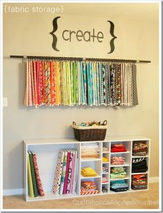 22 tips to organize your craft room from everythingetsy.com