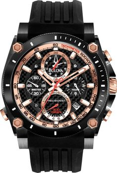 Bulova Watch Precisionist Chronograph TOP TEN Sale! Up to 75% OFF! Shop at Stylizio for women's and men's designer handbags, luxury sunglasses, watches, jewelry, purses, wallets, clothes, underwear
