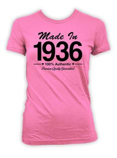 80th Birthday T-Shirt - Great Birthday Gift for any 80 Year Old!  >> IF…