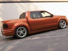 Ford Sport Trac Custom Parts   where ever I may roam...