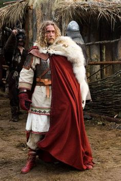 Viking--cant seem to link to a site, but the whole garb aspect is precisely what I am looking for. However, would Vikings have had a method for achieving that sort of white color?