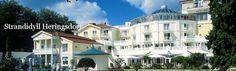 Travel Charme Strandidyll Heringsdorf - 4-Sterne-Superior Hotel auf der Insel Usedom. Wellness, Genuss und Erholung mit großzügiger Parkanlage und direkt am Strand und der Promenade, zentral im traditionsreichen Kaiserbad Heringsdorf gelegen.