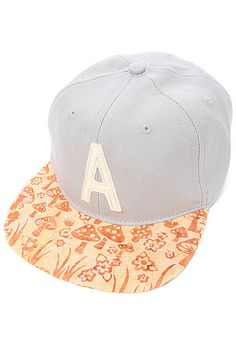 The Fungi Snapback Hat in Grey Heather by Altamont