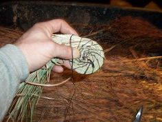 Natural Baskets-- how to weave baskets from wild materials -- grasses,willow, even kudzu