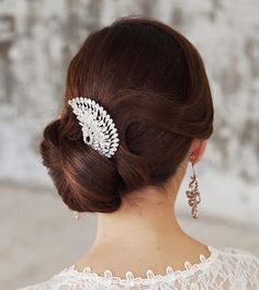 Best Wedding Hairstyles : wedding hairstyle: Elstile