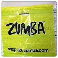 "ZUMBA FITNESS~Zumba Shopping tote Bag 19"" X 19"" NEW Plastic NEED BAGS? 50 BAGS #Zumba #HandleToteBag"